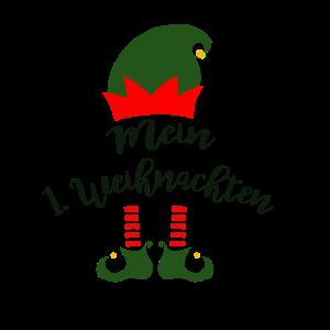 Baby Body Shirt Weihnachten - Mein 1. Weihnachten