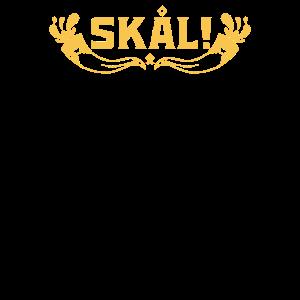 Skal Wikinger jubelt Skol heidnischen Kultur und Wikinger
