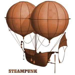 Steampunk Retro Punk Luftschiff