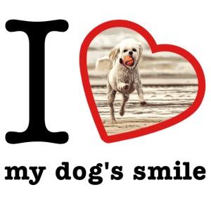 I love my dog's smile :) dog smile