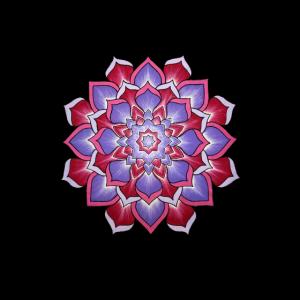 Mandala handgemalt