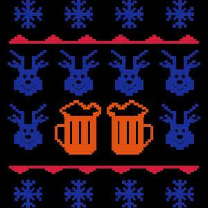 winter beer pixels