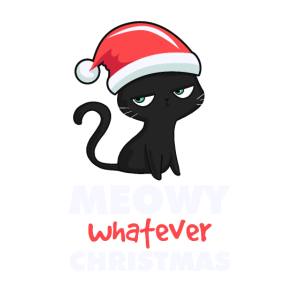 Meowy Whatever Christmas Geschenk