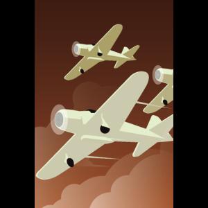 Art Deco | Flugzeuge