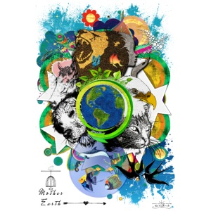 Mother Earth - black (us) -by T-shirt chic et choc