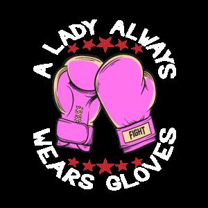 A Lady Always Wears Gloves