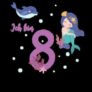 Achter Geburtstag 8 Jahre alt Geburtstagsshirt