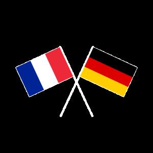 deutsch-französische Freundschaft EU Europa Flagge