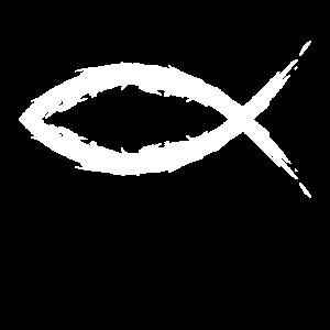 Fisch Christentum Symbol Religion Kirche weiß