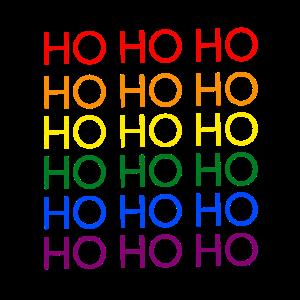 Hohoho Regenbogen LGBT