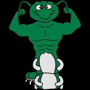 oberkörper posen stark bodybuilder muskeln arme fi