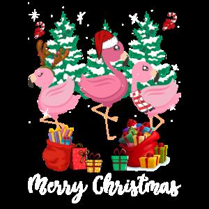 Flamingo Weihnachten