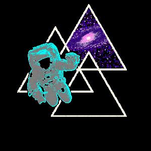 Astronaut Weltall Weltraum Galaxie