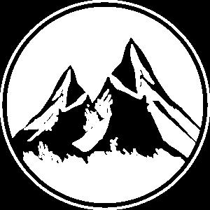 Berge Kreis Alpen