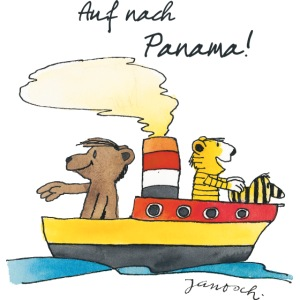 Janosch Tiger und Bären schippern nach Panama