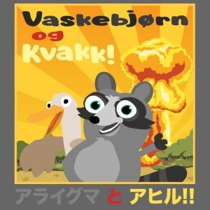 Vaskebjørn og Kvakk