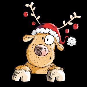 Weihnachtliches Rentier - Rentiere - Geschenk