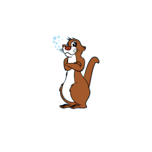 Otters Are Awesome - Funny Otter Design