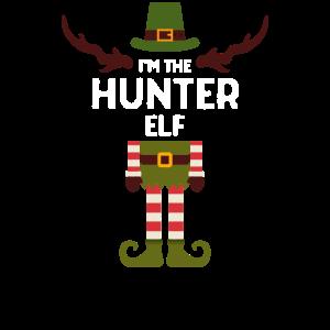 Hunter Elf Elfen T-Shirt für Jäger