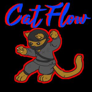 Cat Flow Ninja Katze