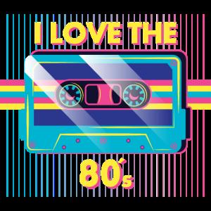 I LOVE THE 80 s Kassette.
