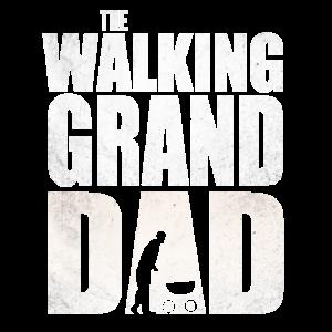 The Walking Granddad Shirt für Opa und Enkel