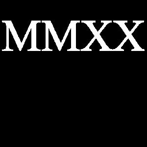 MMXX 2020 in römisch