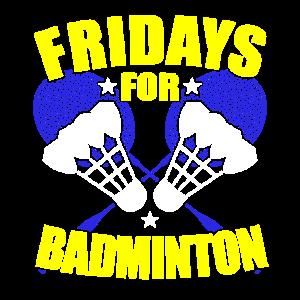 Fridays For Badminton Parodie