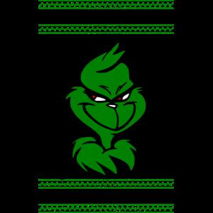 Ho Ho Ho Grinchy Christmas Design