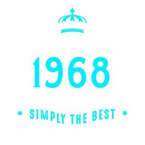original since 1968 simply the best 50. Geburtstag