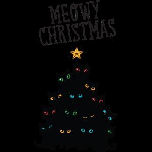 Meowy Christmas - Cat Christmas Tree