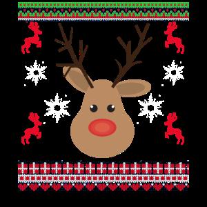 Rentier Weihnachten Ugly Christmas