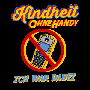 Kindheit ohne Handy ich war dabei