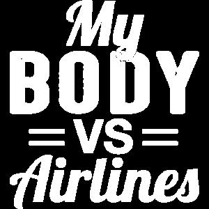 Mein Körper vs Airlines