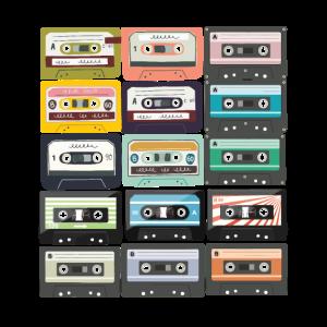 Kassettenband Mixtape Retro-Produkt