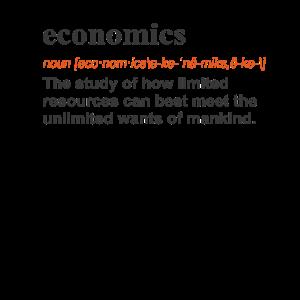 Lustige Wirtschaft Lustige Geschenk-Definition auf Licht