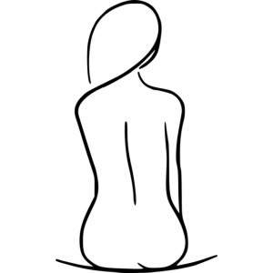 Frauen Silhouette