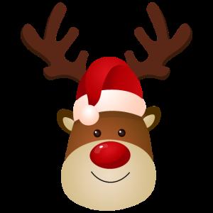 Rudolf das Rentier - Süßes Rentier Weihnachten