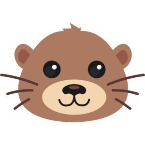 Otter Fischotter Kopf Spirit Animal Lieblingstier