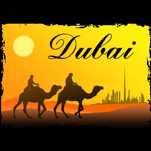 Dubai - Kamel- Karawane - Wüste - Camel