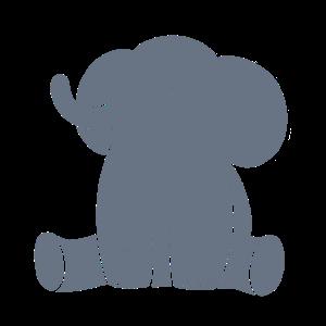 Grau Elefant