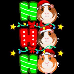 Meerschweinchen Weihnachten Geschenk