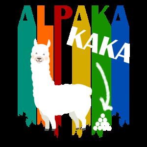 Alpakakaka Alpaka Lama Kaka