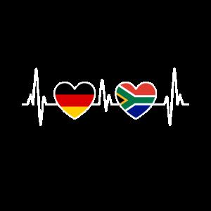Südafrika Deutschland Herzschlag EKG - Reise
