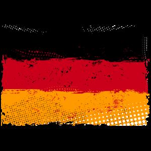 Deutschlandflagge - German Flag