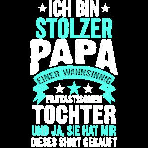 Papa Vater Stiefvater Vatertag Tochter