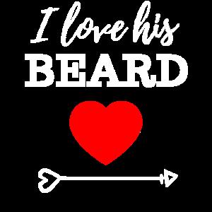 I like his Beard I like her Butt Couple Partner