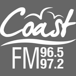 Coast FM single colour logo