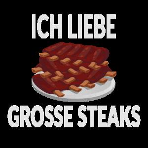 Essen Steaks Spruch