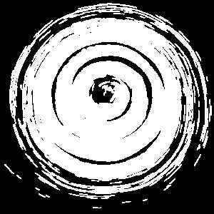 Große Spirale Handmade
